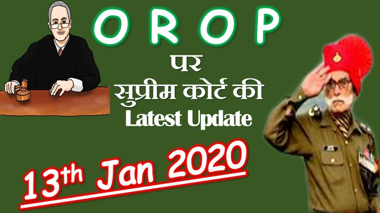 Orop latest news today 2020