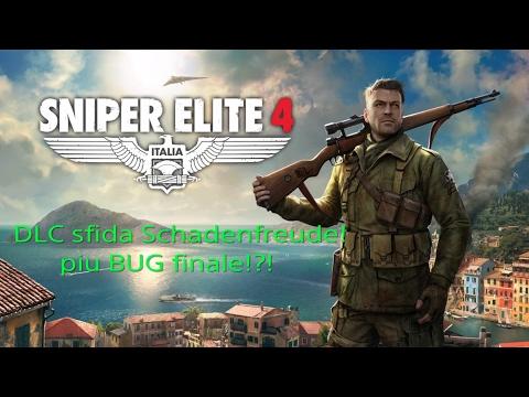 Sniper Elite 4 - DCL, Sfida Schadenfreude e bug finale