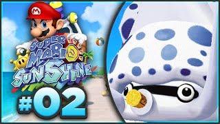 Super Mario Sunshine 100% Walkthrough   ALL Ricco Harbor Shine Sprites! [Episode 2 🔴LIVE]