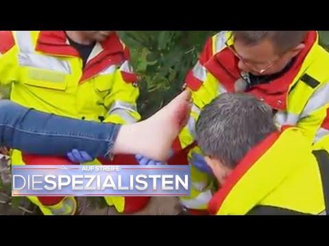 Fußballspiel artet aus: Nils (12) Fuß ist explodiert!   Die Spezialisten   SAT.1 TV