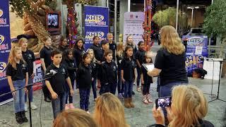 Santa Clarita Children's Choir - 2019 Sheriff's Toy Drive - KHTS Radio