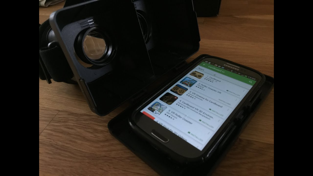 a6578a5c7761 Virtual Reality Headset - Firebox - ThumbsUp! - YouTube