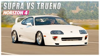 Forza Horizon 2 - Supra vs Trueno