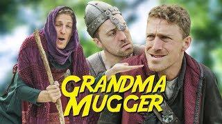 Muggers gon mug...but would they mug their own grandma? LIKE & SUBS...