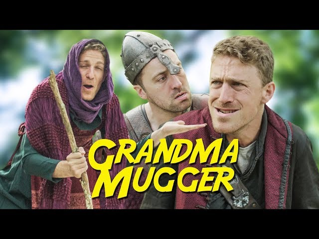 Grandma Mugger (does an npc mugger have free will?)   Viva La Dirt League (VLDL)