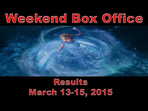 Weekend box office results march 13 15 2015 youtube - Movie box office results this weekend ...