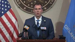 Governor Stitt and health officials provide update on COVID-19 response