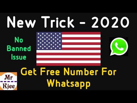 #AddSubtitle, Get Free US Number & How To Create A Fake Whatsapp Account Without Number
