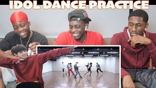 [CHOREOGRAPHY] BTS (방탄소년단) 'IDOL' Dance Practice - REACTION