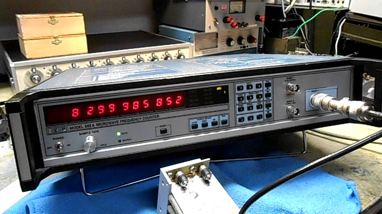 Gbppr Vision 1 Eip 545a Microwave Frequency Counter