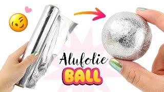ALUMINIUM BALL ⚪Silber FOLIENKUGEL selbstgemacht! Glänzende KUGEL selber machen! Japan Trend Deutsch