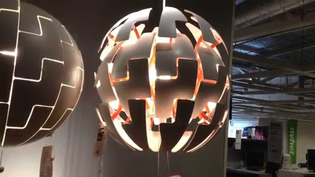 ikea ps 2014 lamp death star youtube. Black Bedroom Furniture Sets. Home Design Ideas
