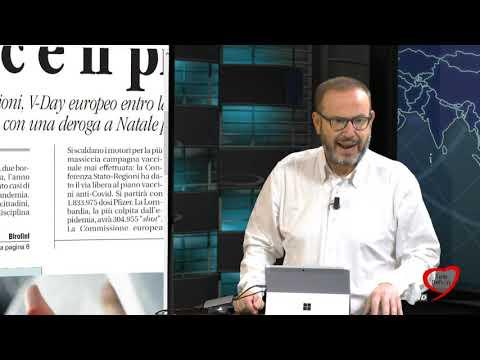 I giornali in edicola - la rassegna stampa 17/12/2020