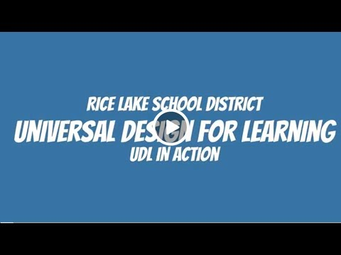 UDL Case Study Rice Lake High School Chemistry