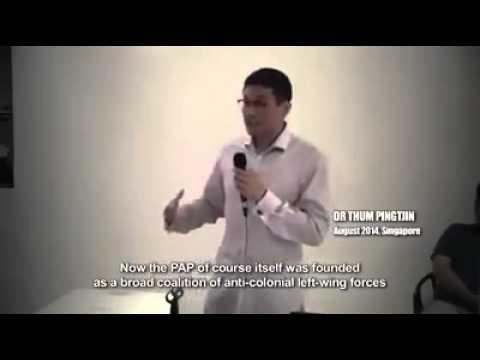 An Alternative History of Modern Singapore by Dr PJ Thum