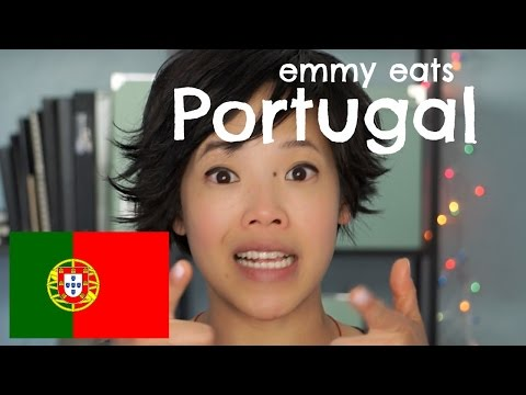 Emmy Eats Portugal - tasting Portuguese snacks & sweets