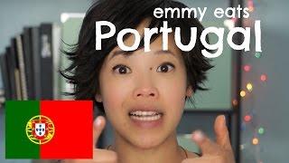 Emmy Eats Portugal - Tasting Portuguese Snacks & Sweets
