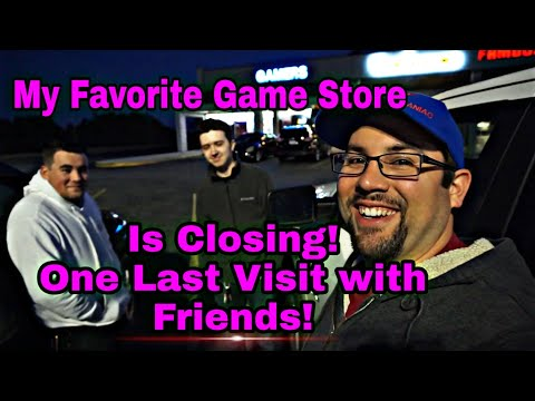 My Favorite Game Store Is Closing! One Last Visit With Friends