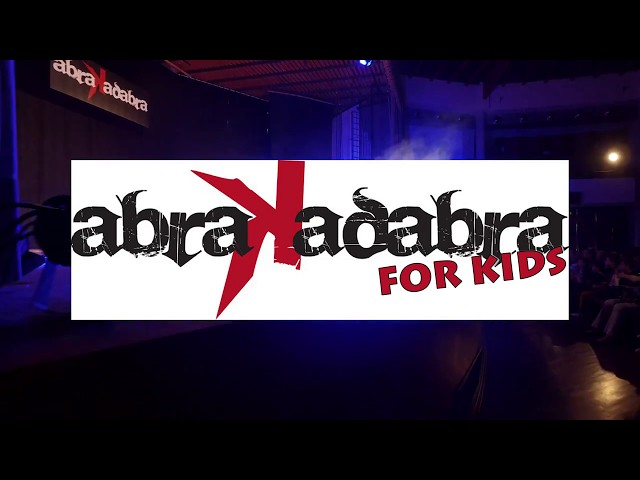 Promo Abrakadabra For Kids