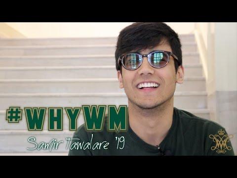 #whyWM: Samir Tawalare '19
