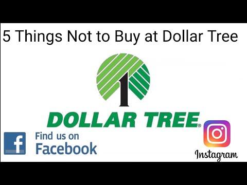 Dollar Tree 5 Things Not To Buy