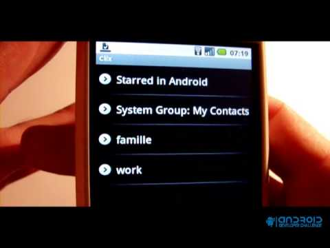 Manage your contacts with groups on your android - Clix Group Manager