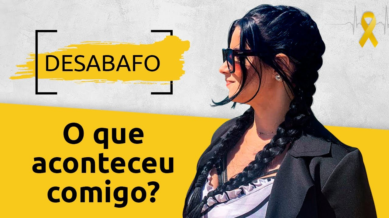 DESABAFO - PORQUE PAREI DE FALAR SOBRE DEPRESSÃO