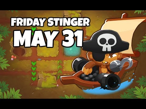 BTD6 Friday Stinger; The Best Pirate I&39;ve Ever Seen - May 31 2019