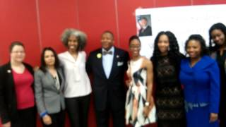 "At  @Senator.James.Sanders ""Women Making a Difference 2016"""