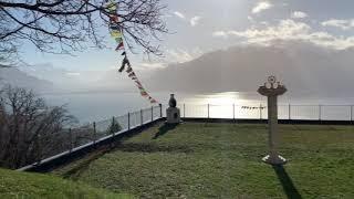 """Tibetan Center """"Rabten Dharma"""" in Mont Pelerin, Switzerland"""