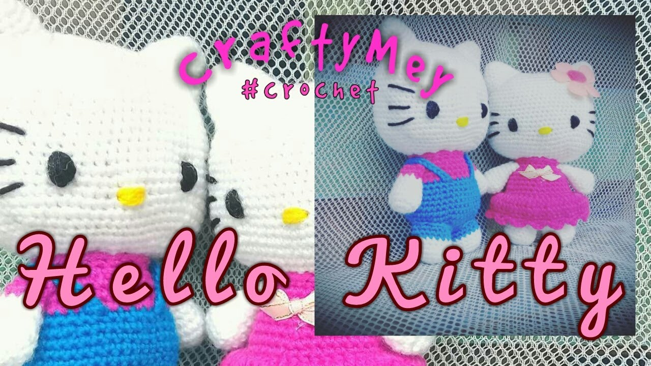 250 Best คิตตี้ images | Hello kitty crochet, Crochet amigurumi ... | 720x1280