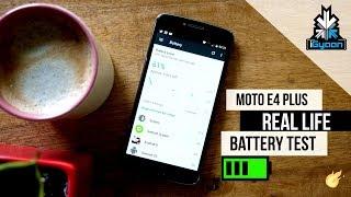 MOTO E4 Plus Real Life Battery Review For 5000 mAh Phones