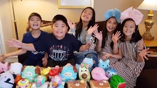 Squishy Challange with JJC SS Squishy Shop