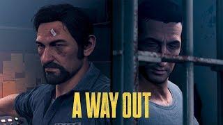 A Way Out игра на двоих за 1 компом 2 часть
