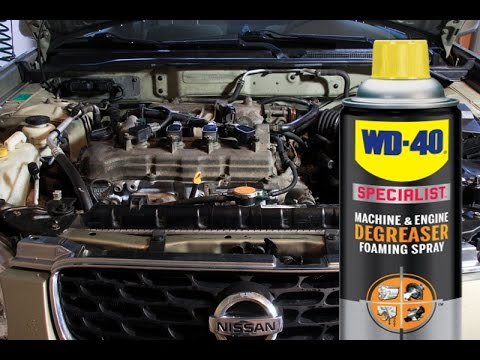 safely clean and detail your engine bay without water using wd 40 specialist degreaser youtube. Black Bedroom Furniture Sets. Home Design Ideas