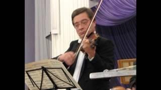 Igor Shapovalov - V.Borysov Violin Concerto 1st mov.(Валентин Борисов концерт для скрипки с оркестром, первая часть.