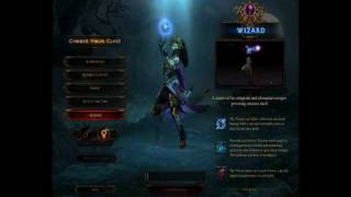 Diablo 3 Beta: Patch 13 Character Creation