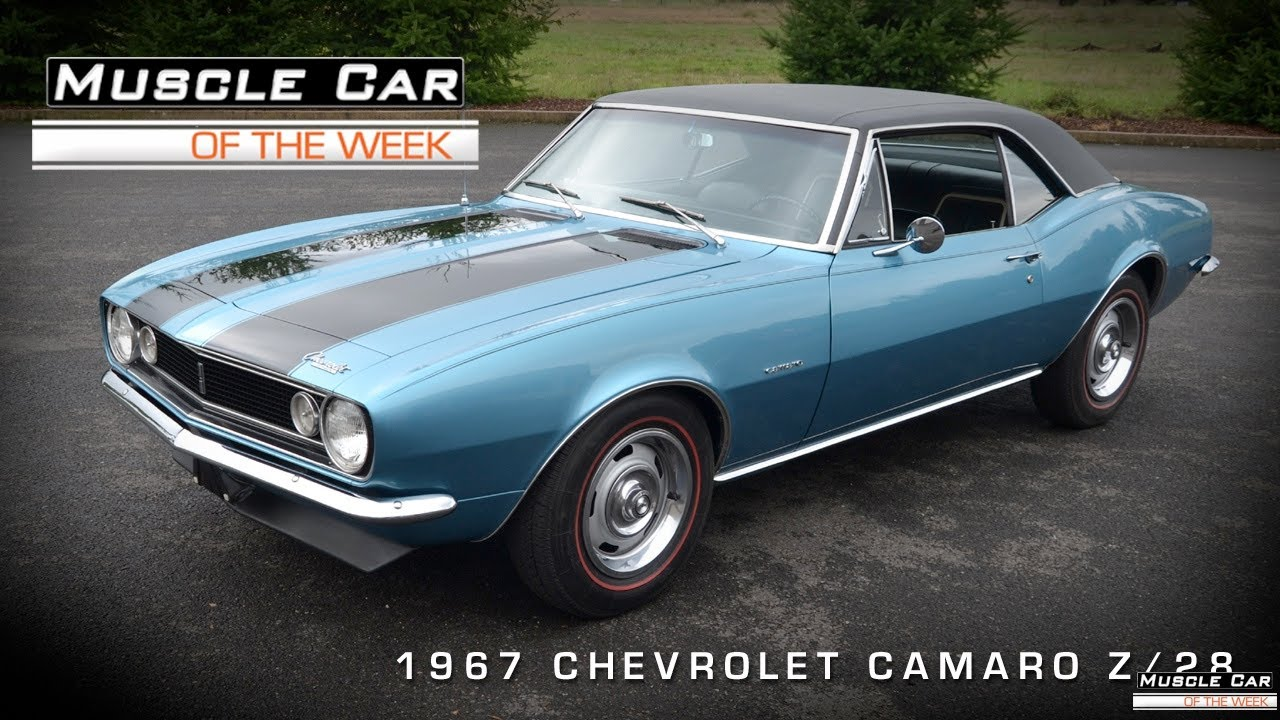 Muscle Car Of The Week Video 39 1967 Camaro Z 28 Video