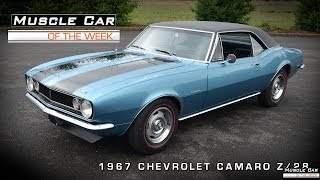 Muscle Car Of The Week Video #39: 1967 Camaro Z/28 Video