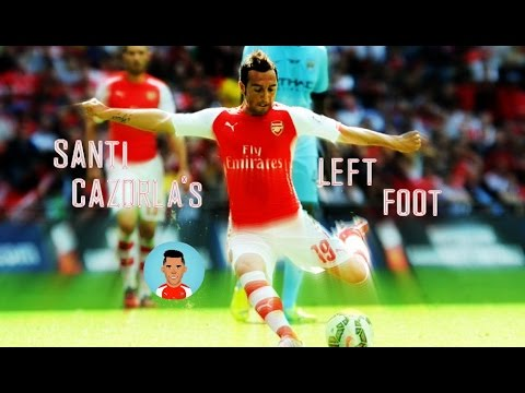 Santi Cazorla - Left Foot Compilation {Weak Foot} | HD