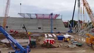 Allianz Stadion: Blick auf die Baustelle II (19.08.2015)