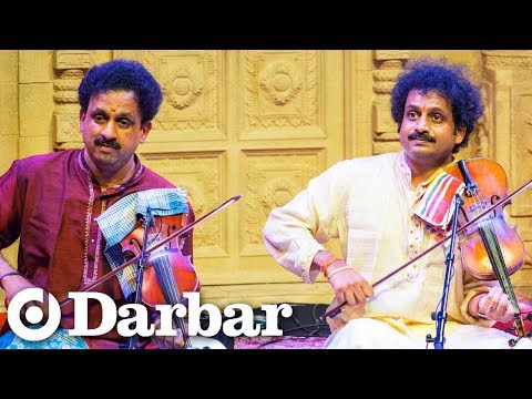 Mysore Brothers | Raga Charukesi | Carnatic Violin Duet | Music of India