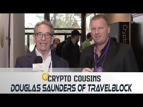 Interview With Douglas Saunders of TravelBlock   2018 Bitcoin Ethereum Blockchain Super Conference