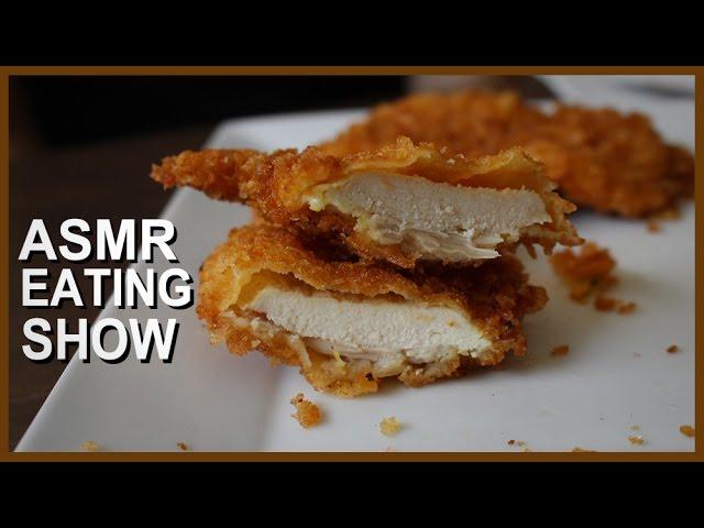 Crispy Fried Chicken Asmr Eating Sounds Fried Chicken Mukbang