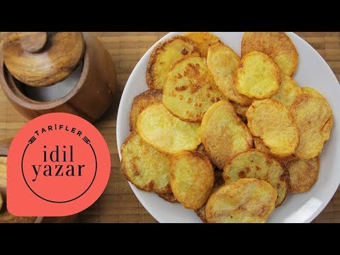 Fırında Patates Cipsi Nasıl Yapılır? - İdil Yazar - Yemek Tarifleri - Potato Chips