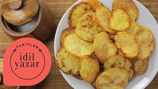 Fırında Patates Cipsi Nasıl Yapılır? - İdil Yazar - Yemek Tarifleri - Potato Chi
