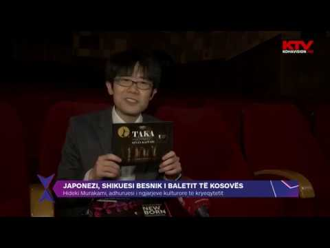 Download Hideki Murakami adhuruesi i ngjarjeve kulturore te kryeqytetit 02 04 2019