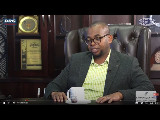 Coffee with Grant & Dr Zondi (executive chairman of the SanDock)