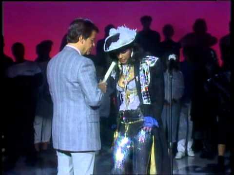 Dick Clark Interviews Vanity - American Bandstand 1986