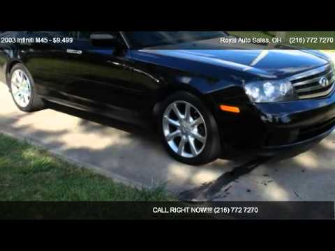 2003 infiniti m45 for sale in willoughby oh 44094 youtube. Black Bedroom Furniture Sets. Home Design Ideas